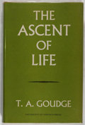 Books:Natural History Books & Prints, T. A. Goudge. The Ascent of Life. A Philosophical Study of the Theory of Evolution. Toronto: University of Toron...
