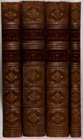 Books:Fine Bindings & Library Sets, [Napoleon, subject]. P. Lanfrey. The History of Napoleon I. London: Macmillan, 1871-1879. Early English editions... (Total: 4 Items)