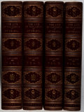 Books:Fine Bindings & Library Sets, [Napoleon, subject]. The Count de las Cases. Journal of the Private Life and Conversations of the Emperor Napoleon at Sa... (Total: 4 Items)