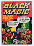 Golden Age (1938-1955):Horror, Black Magic #14 (Prize, 1952) Condition: VG/FN....