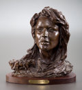 Sculpture, GRANT SPEED (American, b. 1930). Home From the War, 1977. Bronze with patina. 13 inches (33.0 cm). Ed. 22/30. Signed and...