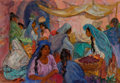 Paintings, MARION GREENWOOD (American, 1909-1970). Mexican Market. Oil on canvas. 20 x 29 inches (50.8 x 73.7 cm). Signed lower lef...