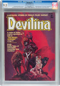 Magazines:Horror, Devilina #1 (Atlas-Seaboard, 1975) CGC NM- 9.2 Off-white to white pages....