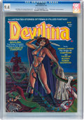 Magazines:Horror, Devilina #2 (Atlas-Seaboard, 1975) CGC NM 9.4 Off-white to white pages....