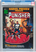 Magazines:Superhero, Marvel Preview #2 The Punisher (Marvel, 1975) CGC NM+ 9.6 Cream tooff-white pages....