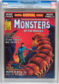 Magazines:Science-Fiction, Monsters of the Movies Annual #1 (Marvel, 1975) CGC NM/MT 9.8Off-white to white pages....