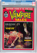 Magazines:Horror, Vampire Tales #1 (Marvel, 1973) CGC NM 9.4 Cream to off-white pages....