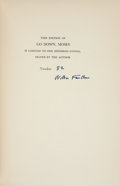 Books:Literature 1900-up, William Faulkner. Go Down, Moses and Other Stories. NewYork: Random House, [1942]. First edition, first printin...