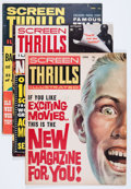Magazines:Miscellaneous, Screen Thrills Illustrated #1, 2, and 4 Group (Warren, 1962)Condition: Average VG+.... (Total: 3 Items)