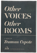 Books:Literature 1900-up, Truman Capote. Other Voices, Other Rooms. New York: RandomHouse, [1948]. First edition of the author's first book....