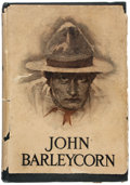 Books:Literature 1900-up, Jack London. John Barleycorn. New York: The Century Co.,1913. First edition. In the rare original dust jacket....