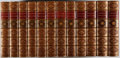 Books:Fine Bindings & Library Sets, James Anthony Froude. History of England. London: Parker, 1858-1870. Second edition. Twelve octavo volumes. Contempo... (Total: 12 Items)
