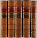 Books:Fine Bindings & Library Sets, Lord Macaulay. The History of England. London: Longman...,1858. Five octavo volumes. Contemporary full tan moro... (Total: 5Items)