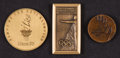 Miscellaneous Collectibles:General, 1996-2006 Summer and Winter Olympics Participation Medals Lot of3....