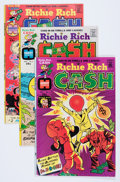 Bronze Age (1970-1979):Cartoon Character, Richie Rich Cash #1-47 File Copy Short Box Group (Harvey, 1974-82)Condition: Average NM-....