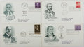 Books:Americana & American History, [First Day Covers]. Group of Four Related To Prominent AmericanLeaders. 1958-1962. Fine. A first day cover is a stamped env...