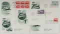 Books:Americana & American History, [First Day Covers]. Group of Five Related To Airmail. 1949. Fine. Afirst day cover is a stamped envelope or card which was ...