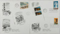 Books:Americana & American History, [First Day Covers]. Group of Five Related To National Parks. 1972.Fine. A first day cover is a stamped envelope or card whi...