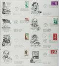 Books:Americana & American History, [First Day Covers]. Group of Eight Related To Various AmericanTopics. 1963-1964. Fine. A first day cover is a stamped envel...