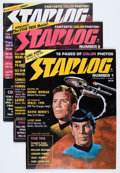 Magazines:Science-Fiction, Starlog Box Lot (O'Quinn Studios, 1976-93) Condition: AverageVF/NM....
