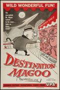 "Movie Posters:Animation, Destination Magoo (Columbia, 1954). One Sheet (27"" X 41""). Animation.. ..."