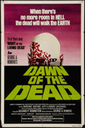 """Movie Posters:Horror, Dawn of the Dead (United Film Distribution, 1978). One Sheet (27"""" X 41"""") Green Version. Horror.. ..."""