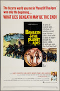 """Movie Posters:Science Fiction, Beneath the Planet of the Apes (20th Century Fox, 1970). One Sheet(27"""" X 41""""). Science Fiction.. ..."""