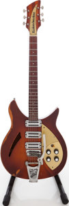 Musical Instruments:Electric Guitars, Circa 1958 Rickenbacker 345 Sunburst Semi-Hollow Body Electric Guitar, Serial # 3V811....