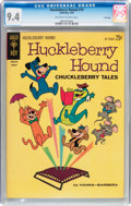 Silver Age (1956-1969):Cartoon Character, Huckleberry Hound #19 File Copy (Gold Key, 1963) CGC NM 9.4 Off-white to white pages....