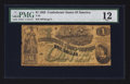 Confederate Notes:1862 Issues, T45 $1 1862 PF-2 Cr. 362.. ...