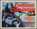 "Movie Posters:Adventure, Captains Courageous (MGM, R-1962). Half Sheet (22"" X 28"").Adventure.. ..."