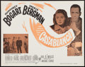 "Movie Posters:Academy Award Winners, Casablanca (Warner Brothers, R-1956). Half Sheet (22"" X 28"").Academy Award Winners.. ..."
