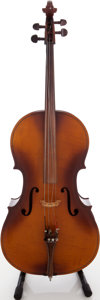 Musical Instruments:Violins & Orchestra, Early 1970s Kay Sunburst Cello, Serial # 40186/...