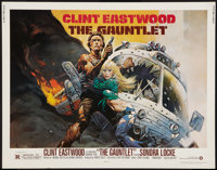 "The Gauntlet (Warner Brothers, 1977). Half Sheet (22"" X 28""). Action"