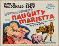 "Movie Posters:Musical, Naughty Marietta (MGM, R-1962). Half Sheet (22"" X 28""). Musical....."