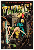Golden Age (1938-1955):Horror, The Thing! #9 (Charlton, 1953) Condition: VG+....
