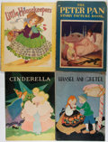 Books:Children's Books, [Children's Books]. Four Large-Format Full-Color Children's Booksin Stiff Wrappers. Including: Hansel and Gretel; T...