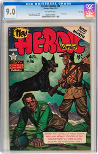 Heroic Comics #86 File Copy (Eastern Color, 1953) CGC VF/NM 9.0 Off-white pages