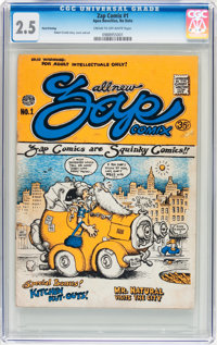 Zap Comix #0 and 1 CGC-Graded Group (Apex Novelties, 1970s).... (Total: 2 Comic Books)