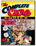 Modern Age (1980-Present):Alternative/Underground, The Complete Crumb Comics Volume 4 Hardcover Edition (Fantagraphics Books, 1989) Condition: VF....