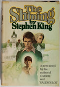 Books:Horror & Supernatural, Stephen King. INSCRIBED BY KING. The Shining. Garden City:Doubleday, [1977]. Book Club Edition. Inscribed by ...