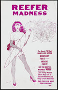 "Movie Posters:Exploitation, Reefer Madness (Motion Picture Ventures, R-1995). Window Card (14""X 22""). Exploitation.. ..."