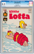 Silver Age (1956-1969):Humor, Little Lotta #45 File Copy (Harvey, 1963) CGC VF+ 8.5 Off-white pages....