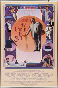 """Evil Under the Sun (Universal, 1982). One Sheet (27"""" X 41""""). Mystery"""