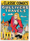 Golden Age (1938-1955):Classics Illustrated, Classic Comics #16 Gulliver's Travels - First edition (Gilberton,1943) Condition: VG+....
