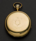 Timepieces:Pocket (pre 1900) , Tremont Watch Co. Gold Filled Key Wind. ...
