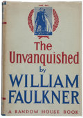 Books:Literature 1900-up, William Faulkner. The Unvanquished. New York: Random House,[1938]. First edition....