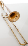 Musical Instruments:Horns & Wind Instruments, King Silver Sonic 3B Two-Tone Trombone, Serial # 321257....