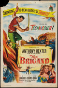 "Movie Posters:Adventure, The Brigand and Other Lot (Columbia, 1952). One Sheets (2) (27"" X41""). Adventure.. ... (Total: 2 Items)"
