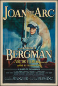 "Movie Posters:Drama, Joan of Arc (RKO, 1948). One Sheet (27.25"" X 41"") Style A. Drama....."